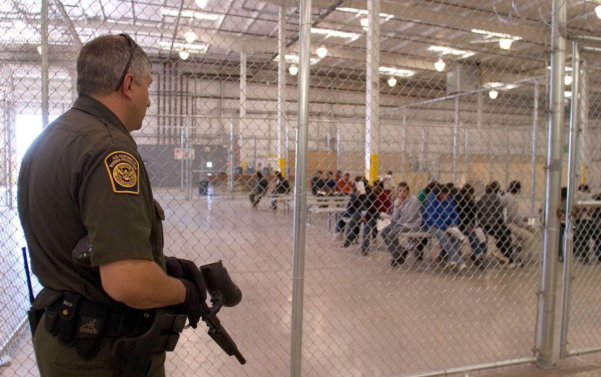 U.S. Customs and Border Patrol detention center.