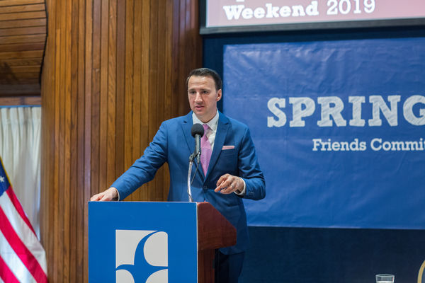 Rep. Ryan Costello (PA-06) speaking at FCNL's Spring Lobby Weekend 2019