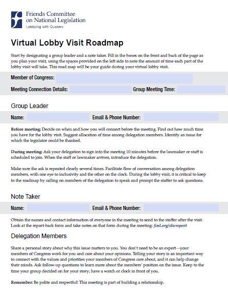 Lobby Roadmap