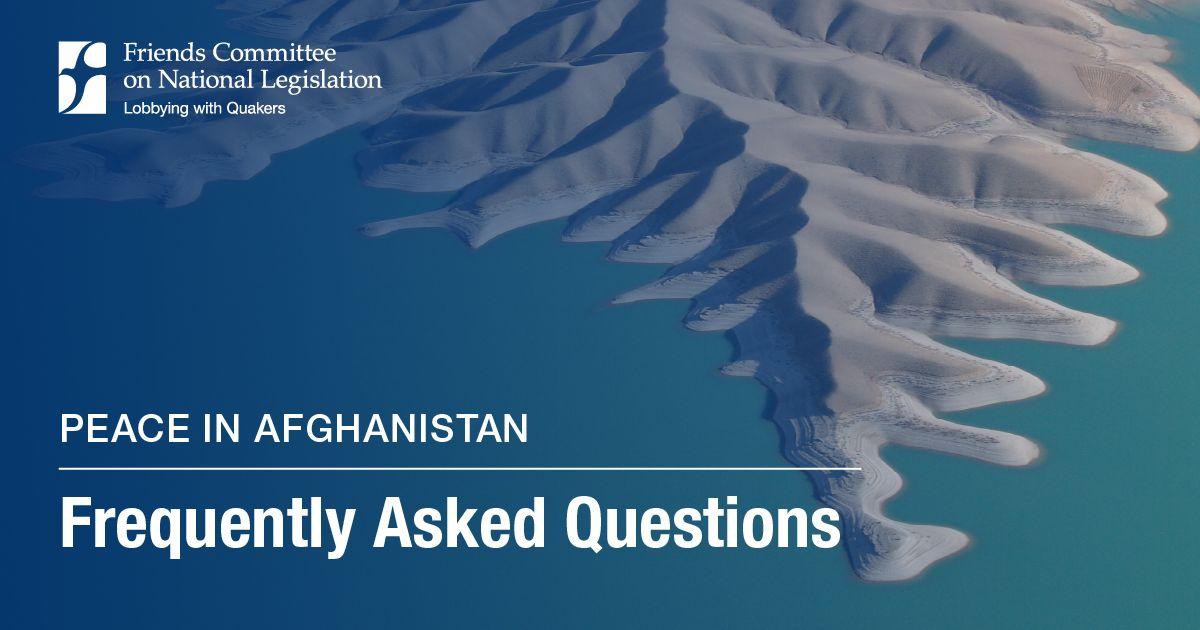 Peace in Afghanistan: FAQ