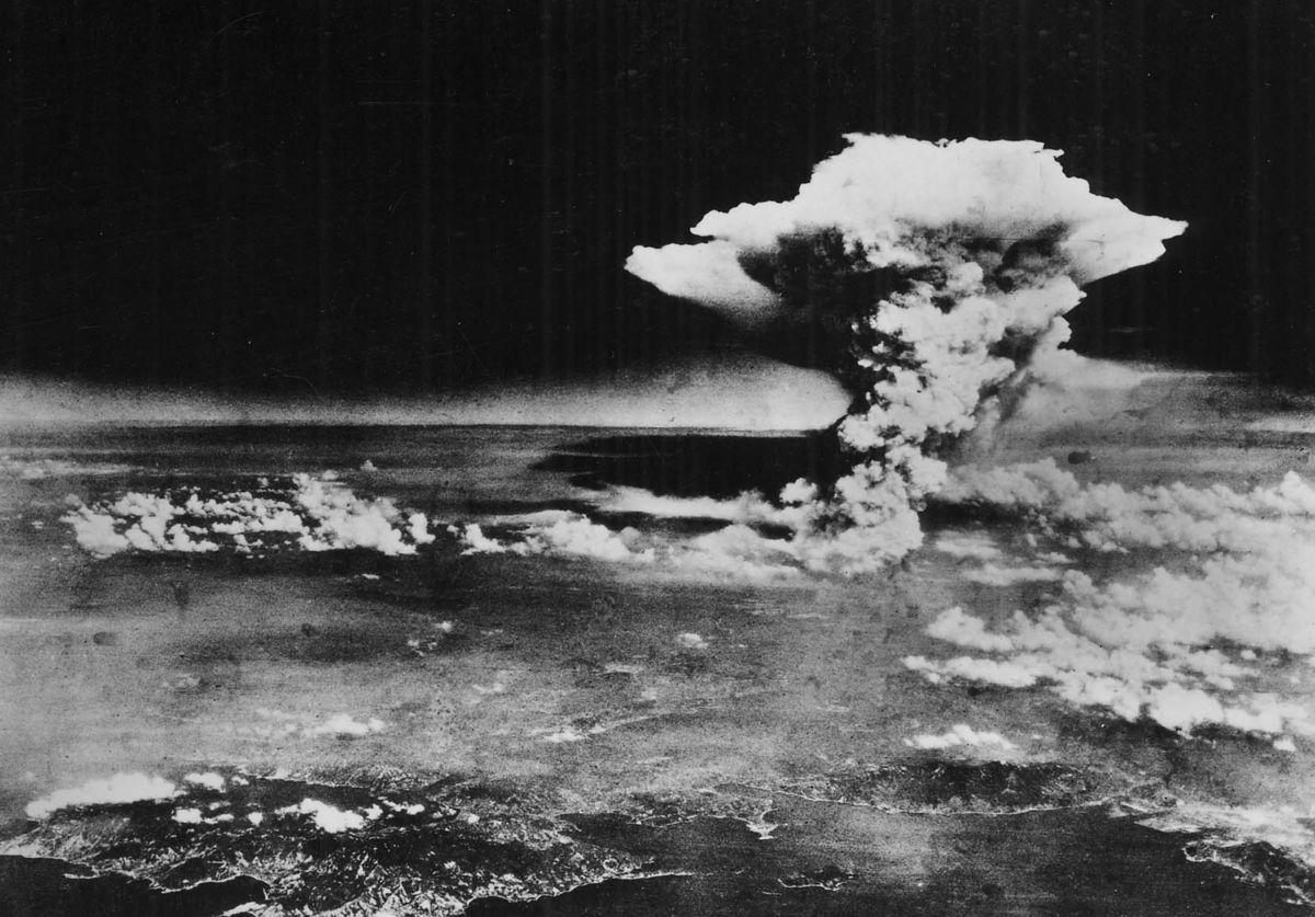 Hiroshima mushroom cloud.