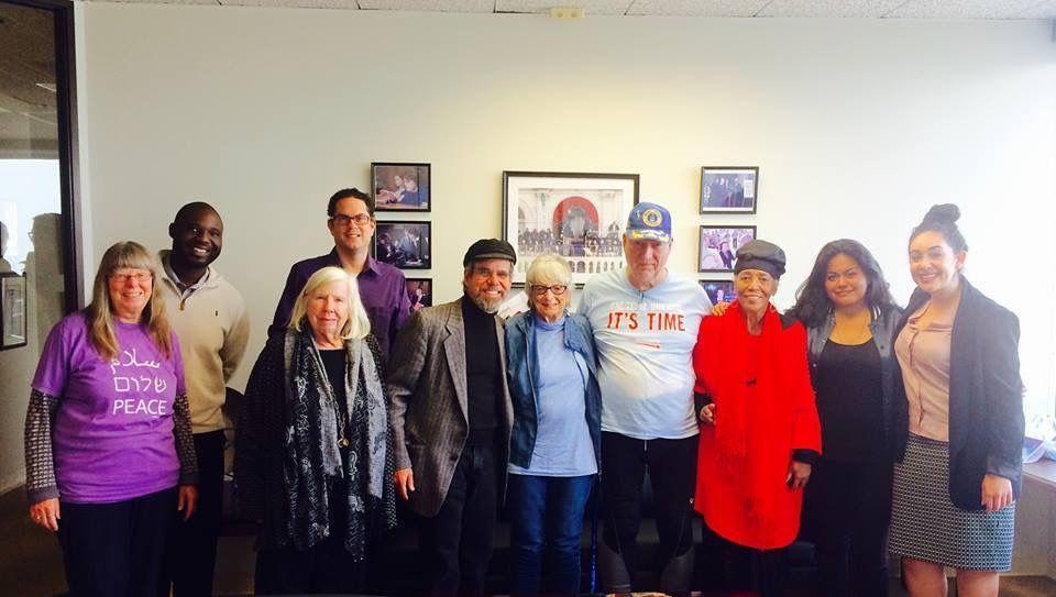 Californians in Senator Feinstein's office