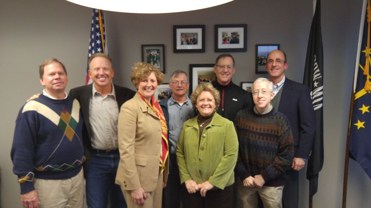 FCNL Constituents with Rep. Susan Brooks