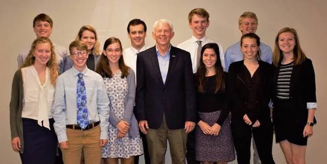 Citizen's Climate Lobby Group with Rep. Bergman