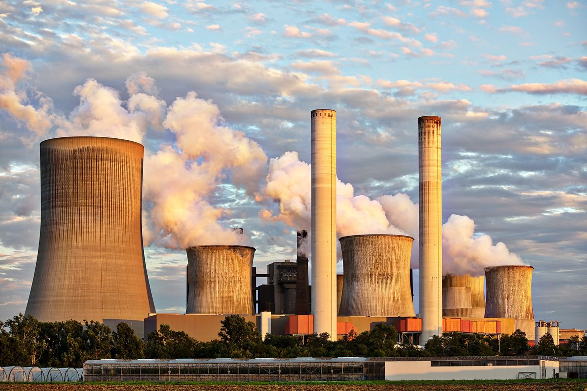 Coal Power Plant Environment