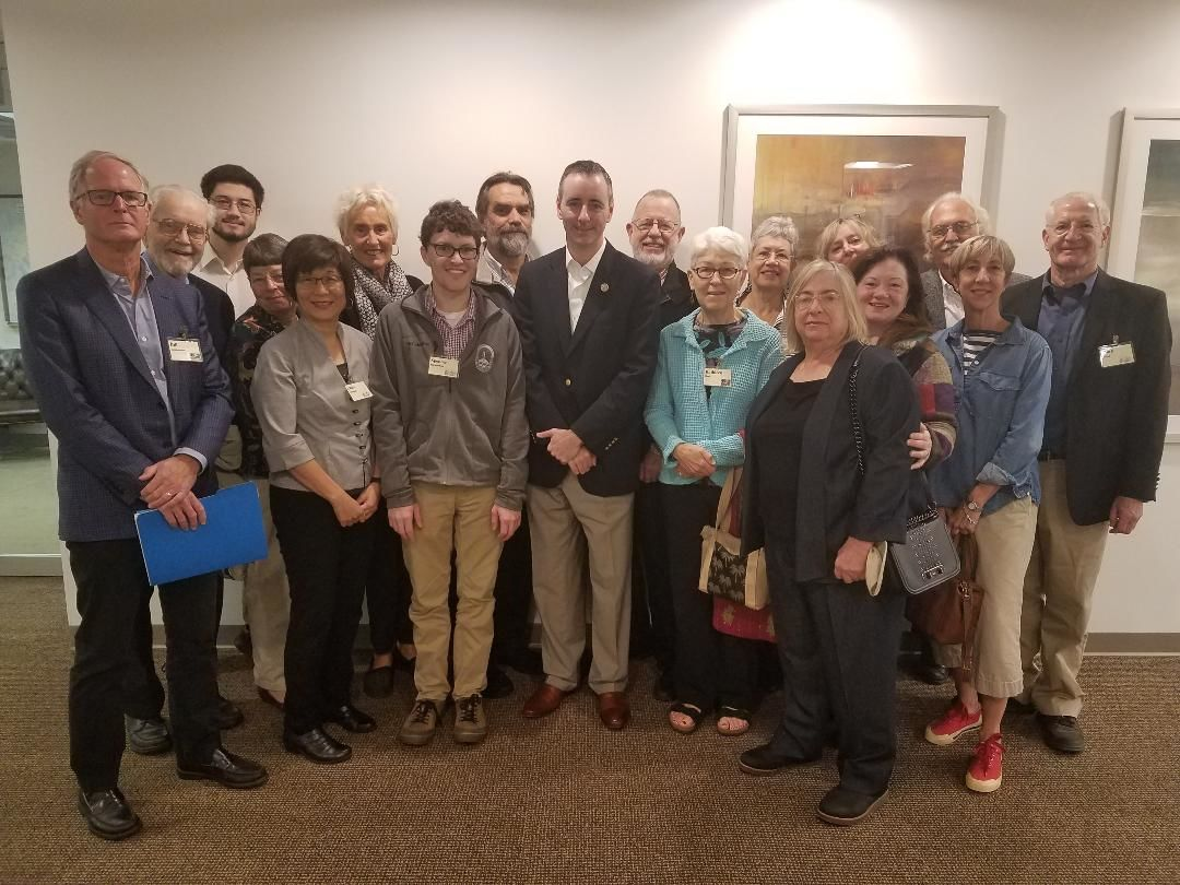 lobbying: Fitzpatrick, Newtown Friends Meeting
