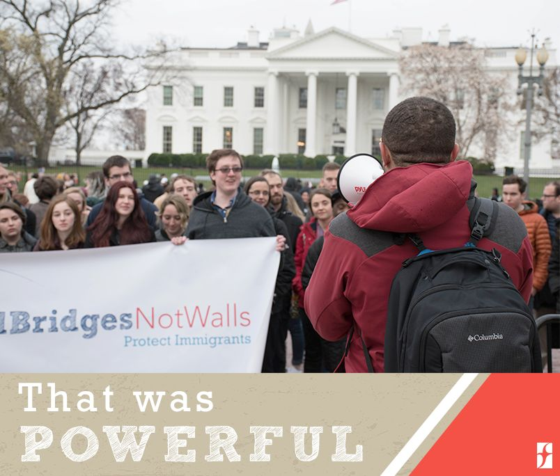 Spring Lobby Weekend 2018 was a powerful event for engaging young adults to lobby for compassionate immigration reform.