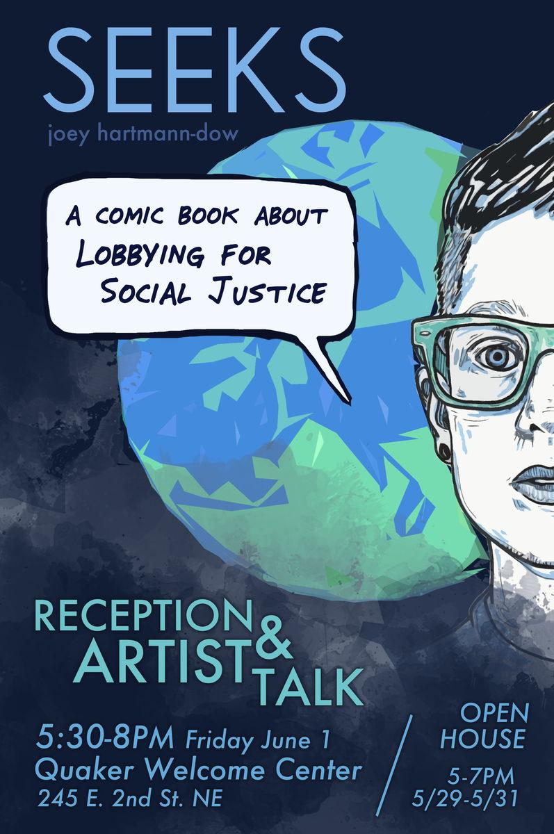 Artist Talk Featuring Joey Hartmann Dow