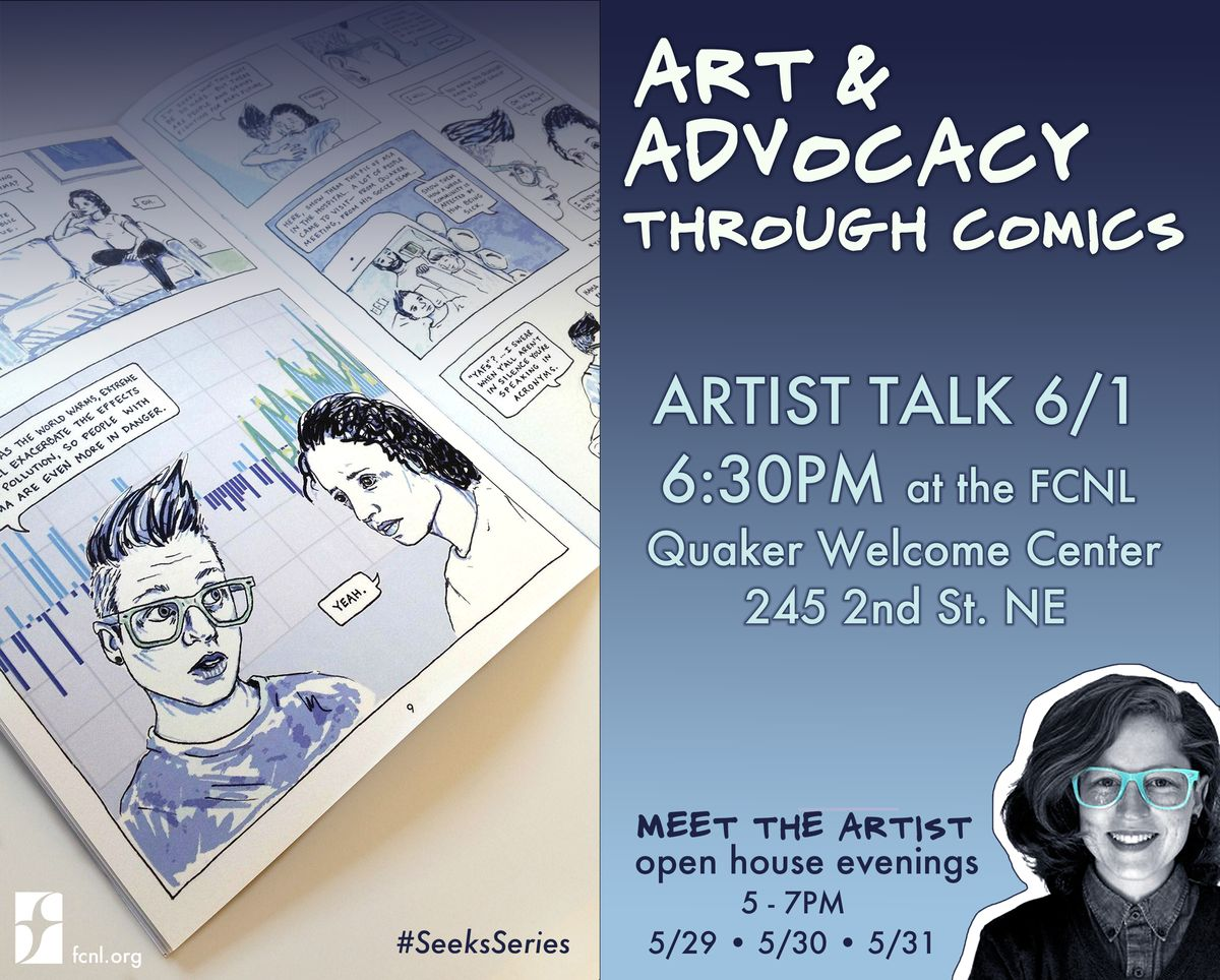 Artist Talk June 1st