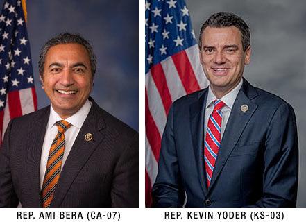 Representatives Ami Bera (D-CA-07) and Kevin Yoder (R-KS-03)