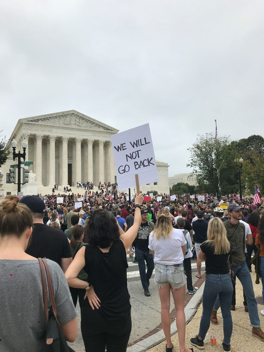 Rally at the Supreme Court