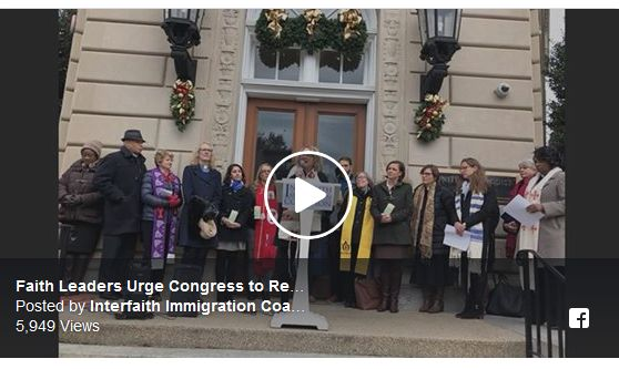 Video from Interfaith Immigration Coalition Press Conference