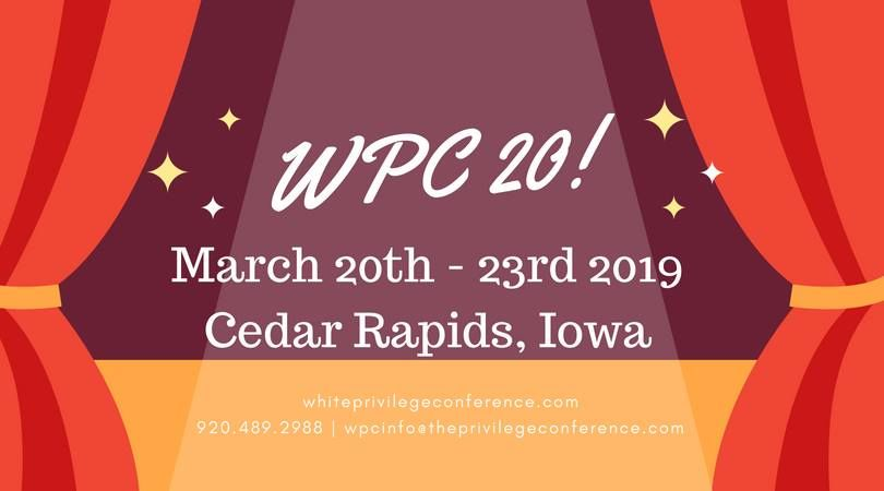 White Privilege Conference 2019